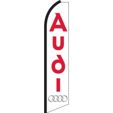 Audi Swooper Feather Flag