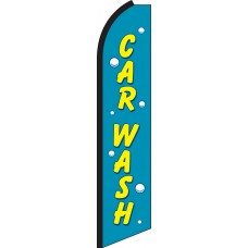 Car Wash Swooper Feather Flag