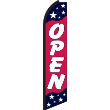 Open Americana Swooper Feather Flag