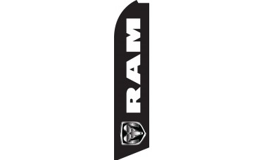 RAM Swooper Feather Flag