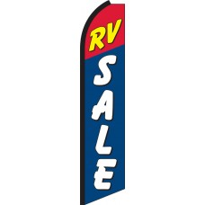 RV Sale Swooper Feather Flag