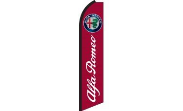 Alfa Romeo Swooper Feather Flag