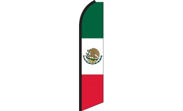 Mexico Swooper Feather Flag