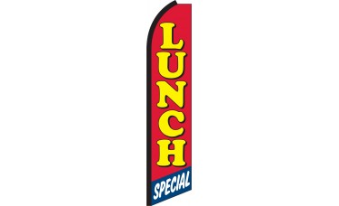 Lunch Special Swooper Feather Flag