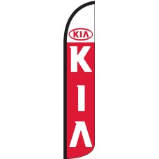 Kia Wind-Free Feather Flag
