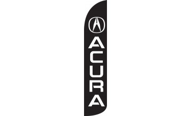 Acura Wind-Free Feather Flag