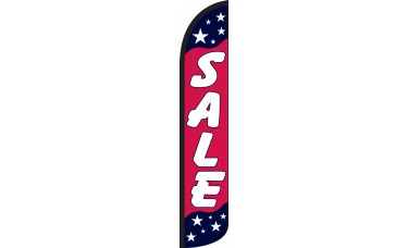 Sale Americana Wind-Free Feather Flag