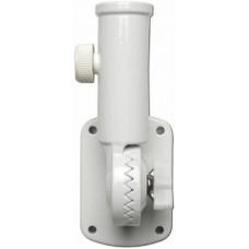 1 Inch White Cast Aluminum Bracket (13 Positions)