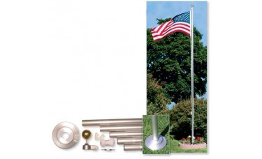 20ft. Residential In-Ground Flagpole