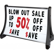 QLA-Plus Roadside Changeable Message Sign with Deluxe Letters Set