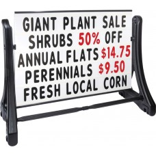 Swinger-Plus Roadside Changeable Message Sign with Standard Letters Set