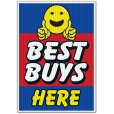 Best Buys Here Underhood Sign