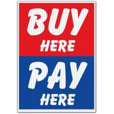Buy Here Pay Here Underhood Sign