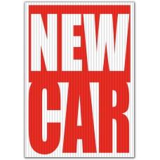 New Car Underhood Sign
