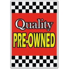 Quality Pre-Owned Underhood Sign