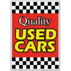 Quality Used Cars Underhood Sign