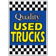 Quality Used Trucks Underhood Sign