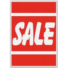 Sale Red/White Underhood Sign