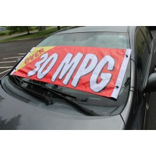 Over 30 MPG Windshield Banner *Clearance*