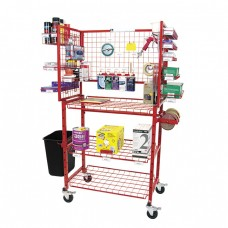 Innovative Mobile Bodyman Materials Supply Cart