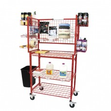 Innovative Mobile Detailer Materials Supply Cart