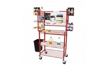 Innovative Mobile Detailer Materials Supply Cart