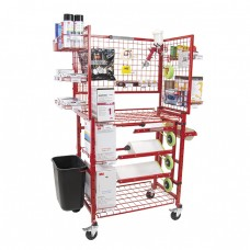 Innovative Mobile Painters Prep Supply Cart w/Masker
