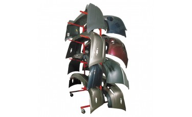 Innovative Mobile Bumper Storage Rack