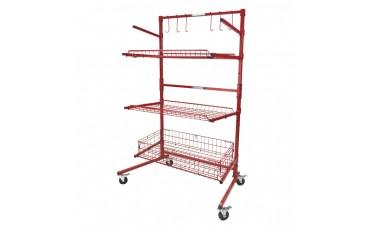 Innovative Parts Cart B with Deep Basket