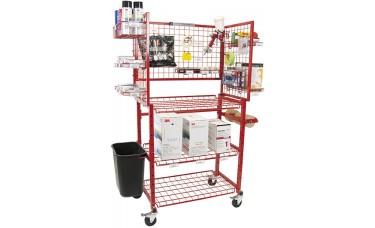 Innovative Paint Prep Cart