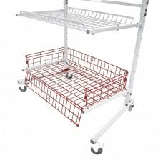 Deep Basket for Innovative Parts Carts