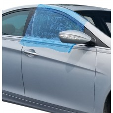 Self-Adhesive Collision Wrap - 2.5 Mil Blue Tinted High Tack (48 in. x 100 ft. Roll)