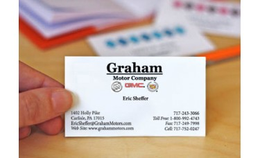 Custom Printed Full Color Business Cards
