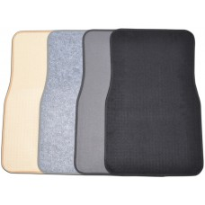 Felt Carpet Car Mats (2-Piece Set)