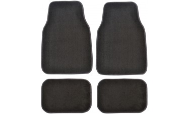 Premium Carpet Car Mats (4-Piece Set)