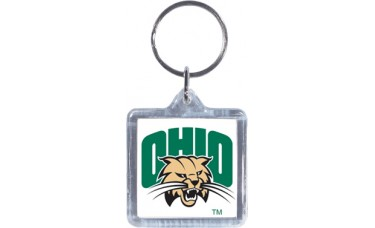 Clear Acrylic Keychains - Square