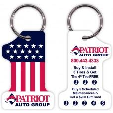 Customer Loyalty Poly Laminate Punchable Key Tags - #1