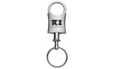 Prestige Valet U-Shaped Square Metal Key Chains