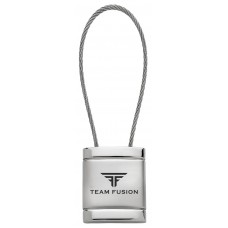 Prestige Cable Key Ring Square Metal Key Chains