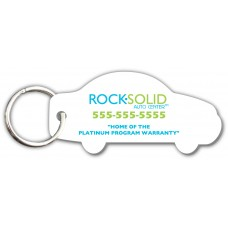 Customer Loyalty Punchable Key Tags - Car-Shape