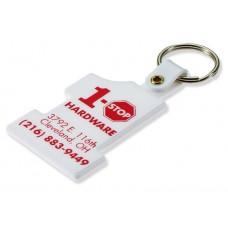 Rigid Plastic Keychains - #1