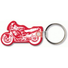 Soft Touch Keychains - Ninja Style Motorcycle
