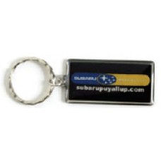 Stainless Steel Keychains - Rectangle