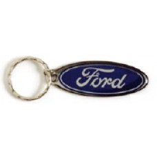 Stainless Steel Keychains - Ford Oval