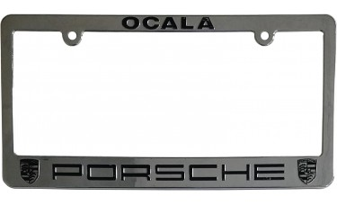 Zinc Metal License Plate Frames
