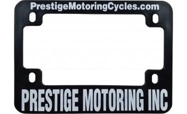 Screen Printed Motorcycle License Plate Frames