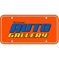 Full Color Digital Poly Coated Cardboard License Plates