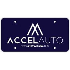 Screen Printed Poly Coated Cardboard License Plates