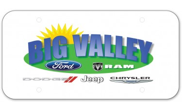 Full Color Offset Polyethylene License Plates (.020 Poly)