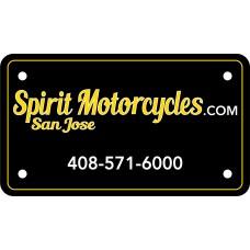 Full Color Digital Polyethylene Motorcycle License Plates (.023 Poly)